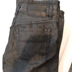 Express Black Denim Jeans 5/6